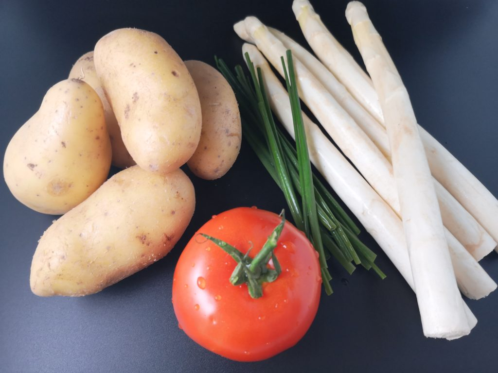 Zutaten Spargel-Kartoffelsalat